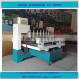 High precision hot sale wood working 4axis multi heads rotary cnc router machine for cylinder