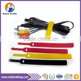 Self-lock tape stainless steel cable ties, hook and loop cable ties, colorful hook and loop cable ties