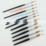 Yiwu suppliers to provide all kinds nail art,cosmetics acrylic brush acrylic fake fur
