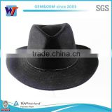 Mexican cowboy black felt hats, Australian wool winter hat