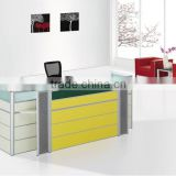 2012 hot sale beauty salon screen reception desk