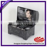 coffin shaped packaging box