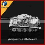 Tigeri tank diy building 3d puzzle metal toy