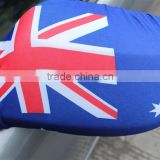 Multifunctional slovakia car wing mirror flag with great price