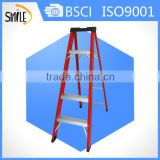 FRP 4 step ladder fiberglass ladder aluminium rung folding ladder glass reforced plastic