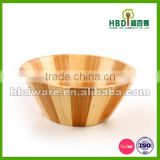 Wooden Salad Bowls with server set