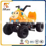 Factory wholesale cheap four wheels child electric motor cycle for kids