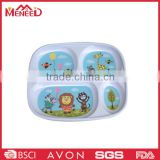 Homeware melamine disposable fast food tray for kids