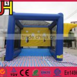 Hot selling inflatable shoot game, inflatable basketball shooting games, inflatable football shoot game