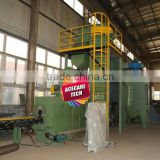 Shot blasting, shot blaster machine