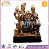 Factory Custom made best home decoration gift polyresin resin ganesh statue idols