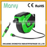 Home garden wall-mounted hose reel cover with 10m PVC water hose