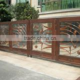 Bisini Luxury Sliding Design Gate, Sliding House Main Gate Design, New Sliding Design Big Iron Gate