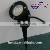 CE approval COB 5W 12v led garden spike lights