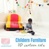 mini cute children foam recliner bean bag sofa
