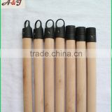 good polishing natrual wooden flooring mop stick one end plastic cap one end plastic greece screw