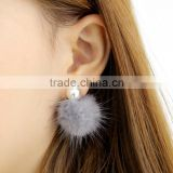 zm53247a ladies earring design pictures fashion fur style earrings for women