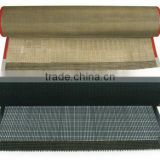 China manufacturer Best quality printing machine conveyor belt food drying PTFE coated fiberglass open mesh