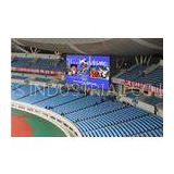 China P20 Outdoor Full Color Stadium LED Display Scoreboard Screen Aluminum / iron Cabinet