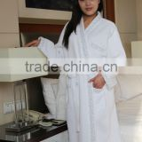 cheap plus size hotel waffle bathrobe