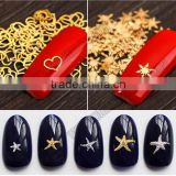 Professional Nail Beauty Art Mix Studs 3D Design Decoration DIY Beauty Stickers Square Punk Rivet Metal Plate