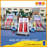 AOQI Dragon massive game inflatable dragon fun city with free EN 14960