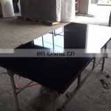 Absolute black granite table top