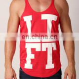 Custom T & Y Back Bodybuilding Singlet with customized printing