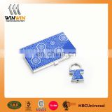 2017 Promotional Custom Metal Name Card Holder With High Quality