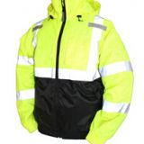 Wholesale Custom 3 in 1 System Waterproof Hi Vis Parka Packet