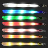 nylon LED Light up Flashing Lanyard Neck Straps Luminous glow in the dark
