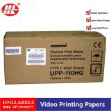High light thermal printing paper use for hospital UPP-110S/UPP-110HG Supplier\'s Choice