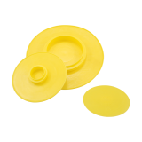 Plastic plug protectors for flange pipe fittings