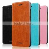MOFi Original Leather Flip Cover for ZTE nubia Z11 Max , Celulares Coque Back Cover Case for nubia Z11 Max
