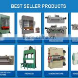 4x8 feet board hot press/plywood paving machine/wood heat press machinery BY214*8/900 ton (11 layers)