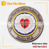 custom challenge coin religion coins antique coins personalized manufacturer China badge coin