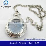 Pocket watch chain luxury fasion 2014 relojes pulsera