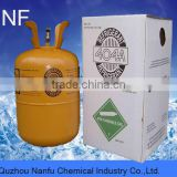 R404a Eco-friendly mixed refrigerant gas 10.9kg/24lb cylinder high purity and best price