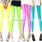 2013 hot sell stocking tights leggings plus size legging candy color neon color leggings                                                                         Quality Choice