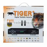 Arabic IPTV box receiver original Tiger E400 satellite receiver for Arabic Europe Turkey India Countries