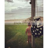 String large mesh toy bag hanging baby carry beach bag