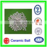 High hardness and high density ceramic alumina grinding balls/porcelain grinding media balls