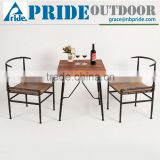 Retro Metal Wooden Tables And Chairs For Restaurant Factory Of Tables And Chairs For Events                                                                         Quality Choice