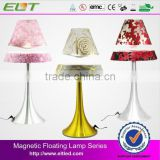 European Style High Tech Magnetic Levitating And Automatic Rotating LED Hotel Table Lamp