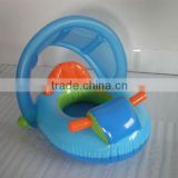 inflatable car baby seat with sunshade