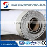 1.2mm thickness white color hydroponic pvc For construction use