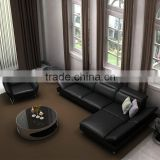 Modern Hot Sale Corner Sofa Set Designs And Price Black Leather Corner Sofa Set