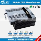 H.264 4CH SD + HDD Mobile Car DVR for Bus, Truck, Logistic Vehicles, Lorry, Shcool Bus etc.