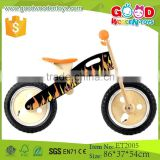 China factory direct sale plywood frame design wooden children bike
