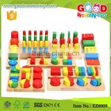 8 Pieces Montessori Materials Geometry Shape Sorter Cylinder Educational Toy Block Wood Teaching Aids                                                                         Quality Choice